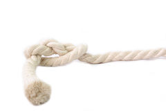 Rope and knot Royalty Free Stock Photos
