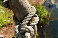 Rope knot Royalty Free Stock Image