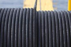 Rope la bride, utilisée dans le travail de dur labeur ou d'opération de grue Photographie stock