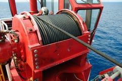 Rope la bride, utilisée dans le travail de dur labeur ou d'opération de grue Images libres de droits