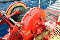 Rope la bride, utilisée dans le travail de dur labeur ou d'opération de grue Images stock