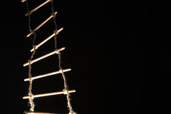 Rope-ladder Royalty Free Stock Images