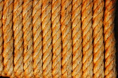 Rope light brown. Royalty Free Stock Image
