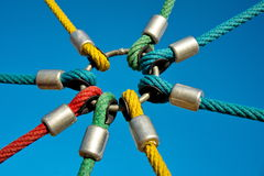 Rope links Royalty Free Stock Photography