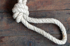 Rope With Loop Royalty Free Stock Photography