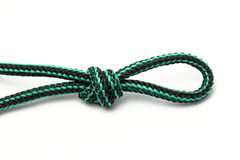 Rope loop and knot Royalty Free Stock Images