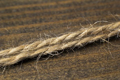 Rope macro Royalty Free Stock Photos