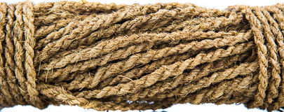 Coconut Fiber Rope Royalty Free Stock Photos