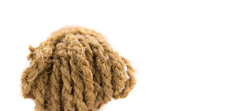 Coconut Fiber Rope II Royalty Free Stock Photo