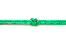 Rope with marine knot Royalty Free Stock Photography