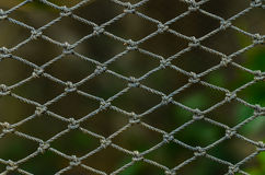 Rope marine net Stock Image