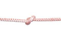Rope mit Knoten 1 Stockbild