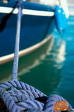 Rope for mooring Stock Image