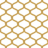 Rope Net Seamless Pattern Royalty Free Stock Photography