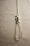 Rope noose Royalty Free Stock Images