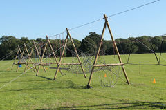 Rope Obstacle Course. Stock Photo