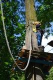 Rope park Stock Photo