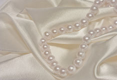 Rope of pearls 1 Royalty Free Stock Photo