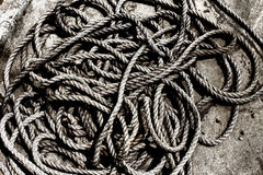 Rope pile Stock Photos