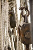 Rope and Pulley 2 Stock Photo