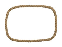 Rope Rectangle Frame Stock Photos