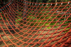 Rope red grid Royalty Free Stock Photo