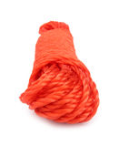 Rope red synthetic strong Royalty Free Stock Image
