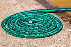 Rope role in a port Stock Photography