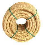 Rope roll Stock Photography