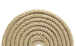 Rope roll Royalty Free Stock Images