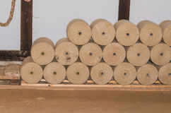 Rope Rollers Stock Image