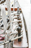 Rope sail and rig Royalty Free Stock Photos
