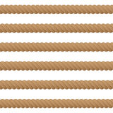 Rope seamless background Royalty Free Stock Photos