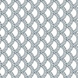 Rope Seamless Pattern, Trendy Vector Wallpaper Background. Weaving Or Fishing Net Macro Detailed Endless Illustration. Usable For Royalty Free Stock Image