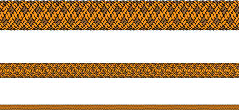 Rope seamless vector Royalty Free Stock Images