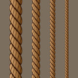 Rope Set 1. Vector Drawing Royalty Free Illustration