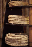 Rope on the shelf Stock Images