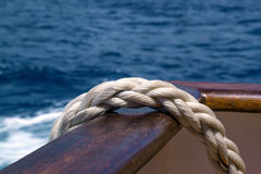 Rope ship Royalty Free Stock Photo