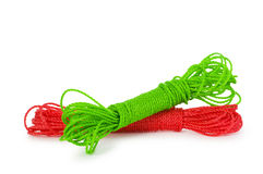 Rope skein isolated Stock Photography