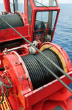 Rope sling,used in hard work or crane operation job. Stock Photography