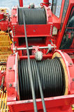 Rope sling,used in hard work or crane operation job. Royalty Free Stock Images