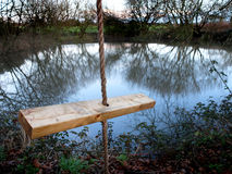 Rope swing Stock Images