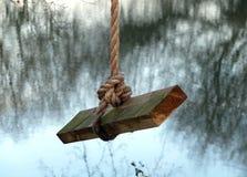 Rope swing Stock Photos