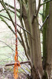 Rope swing Royalty Free Stock Image