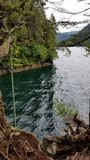 The rope swing Royalty Free Stock Image