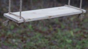 Rope swing stock video footage