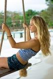 Rope Swings Stock Photo