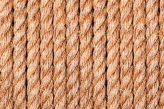 Rope symmetry Royalty Free Stock Photo