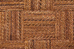 Rope texture. Closeup of rope texture in alternating squares Stock Photography