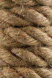 Rope texture. Twisted hamp background Royalty Free Stock Photos
